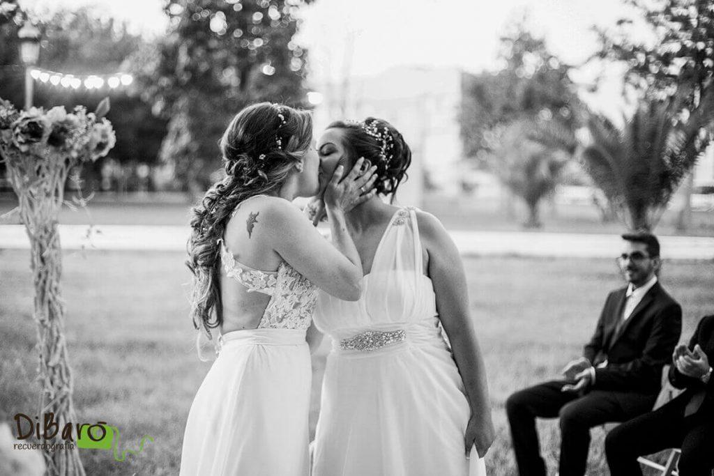 Foto blanco y negro boda lgtbi valencia