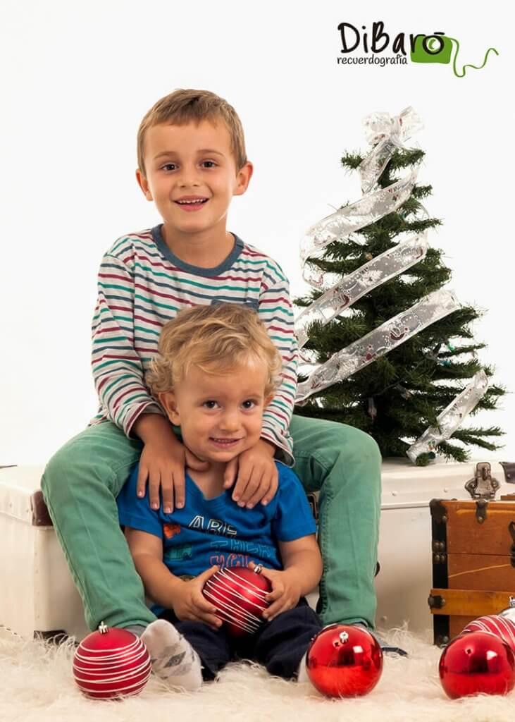 Fotografía navidad niños Valencia