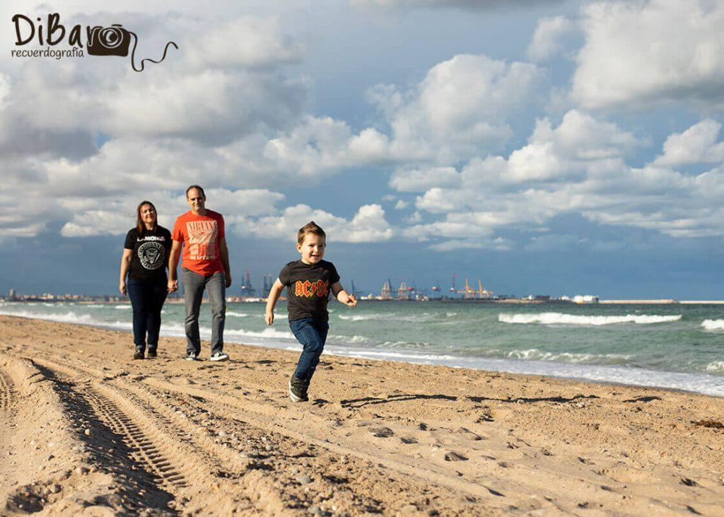sesión de fotos preboda playa valencia