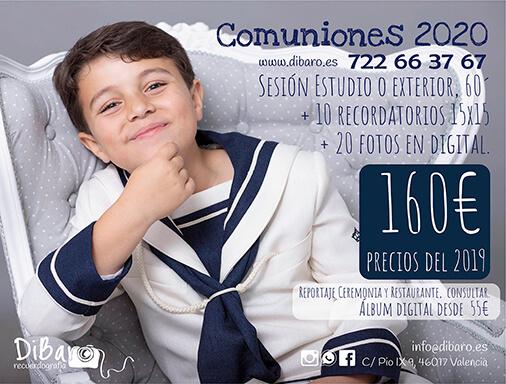 Oferta fotos comunión 2020