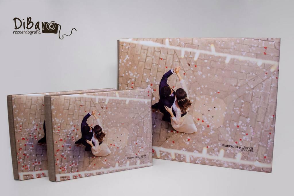 Álbum personalizado para bodas